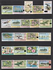 ANGUILLA 1980 SEPARATION DEFINITIVE SET NEVER HINGED MINT