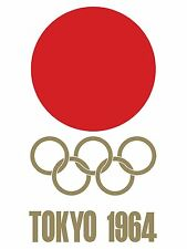 "TOKYO 1964 Olympic Games Poster Print 20"" x 27"" SATIN Archival Paper"