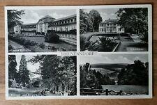 AK BAD NENNDORF (LKR Schaumburg) Niedersachsen 1950 Badehaus Konzert u. Kurpark
