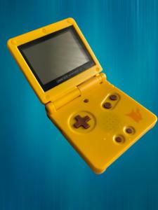 GAME BOY ADVANCE SP EDIZIONE LIMITATA PIKACHU POKEMON GBA GIALLO 3DS DS NDS RARO