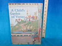 children's poetry A CHILD'S GARDEN OF VERSES by ROBERT LOUIS STEVENSON hc 1989