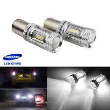2x Ampoule LED P21W BA15S Feux de Clignotant Jour Recul Position DRL Blanc 15W
