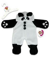 Teddy Bear Clothes fit Build a Bear Teddies Panda Cute Fleece All-in-one Sleeper