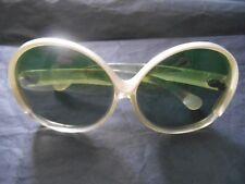 Lunettes de soleil 70's, vintage, acidulées, pop, femme,