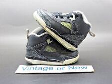 Nike Air Jordan Spizike Black Cool Grey BT Toddler 2014 sz 4C