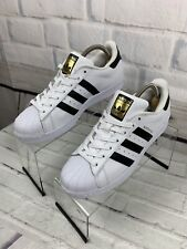 adidas Superstar Originals in Cloud White, Core Black Size 8.5 M Style C77153