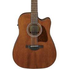 Ibanez Aw5412ce Artwood 12-string Dreadnought Acoustic Open Pore Natural