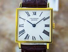 Universal Geneve Beautiful Vintage Gold Plated Manual Ladies Dress Watch PB21