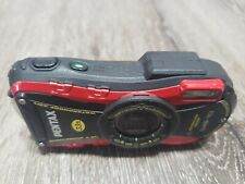 Pentax WG-10 Waterproof Digital Camera~~ Red