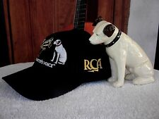 "Nipper Dog Victor ""His Masters Voice"" *Nipper Dog* Rca Victor *New Hat*"
