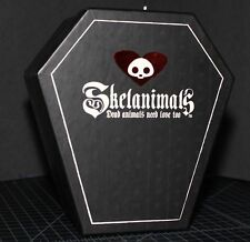 Skelanimals Flocked Jack Rabbit in Coffin SDCC Exclusive #178 of 200 Toynami LE
