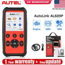 AUTEL AL609P OBD2 CAN Automotive Diagnostic Scanner Tools Engine ABS SRS Airbag