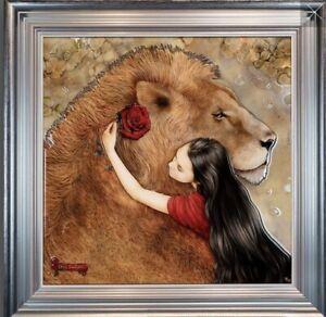 Beauty and The Beast - Kerry Darlington - Artist Proof One