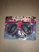 Minnie Mouse Disney Junior Child Swim Mask Goggles Adjustable Strap Ages 3+