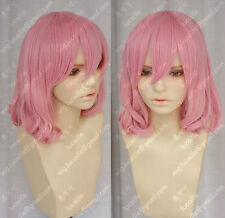 New Oriental Zyr / Emukae Nujiang loli Maid Princess Short pink cosplay Wig Hair