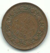 A HIGHER GRADE 1939 INDIA 1/12 ANNA COIN-AGT708