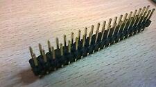 Encabezado de 40 pines GPIO 2x20 Macho Para Raspberry Pi clavijas del conector de entrada salida cero