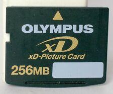 Olympus 256mb XD card.