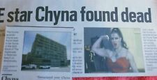 WWE STAR CHYNA FOUND DEAD DAILY BREEZE NEWSPAPER ARTICLE APRIL 2016