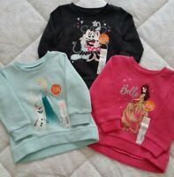 Disney's Baby Girl High-Low Fleece Lined Pullover SweatShirt by Jumping Beans