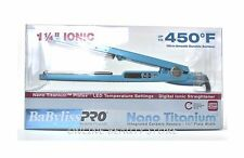 Babyliss Pro Nano Titanium Blue Flat Iron 1.25 Inch, NIB