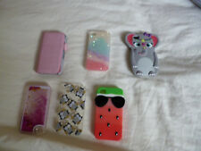 Iphone 4s cases bundle of 6