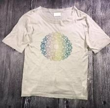 Zadig Voltaire Distressed Butterfly Shirt NWT Linen Cotton Size Large Women's