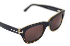 Tom Ford Snowdon TF 237 05j Negro/havana gafas de Sol Wayfarer