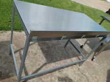 Stainless Steel Nsf Rated Commercial Heavy Great Cond 50 X 25 X 365