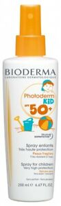 Bioderma Photoderm Kid Spray SPF 50+ 200ml face and body suits sensitive skins