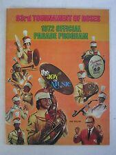1972 TOURNAMENT OF ROSES OFFICIAL PROGRAM - 83RD - SEE PICS - TUB QQQQ