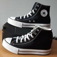 Converse Chuck Taylor Junior Black/White Size UK4 EUR37