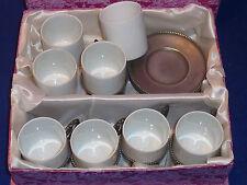 LOT vintage TASSE en PORCELAINE de LIMOGES & assiette ETAIN porcellan porzellan