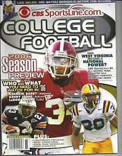 Alabama Crimson Tide- LSU Tigers -Auburn Tigers 2006 CBS Sportsline.com