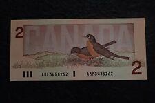 1986 , 2 Dollars,  Crow - Bouey,  Canada, ARF...262 , BC-55a