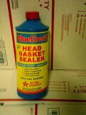 Head Gasket Sealant Blue Devil Permanent Sealer 32 oz BRAND NEW BOTTLES