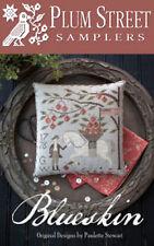Blueskin Folk Art Plum Street Samplers Cross Stitch Pattern