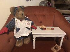 "Boyds Bears Moma Bearybake With Accessories 13"" Plush Bear Ltd Ed 2004"