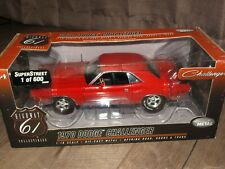 Highway 61 1970 Dodge Challenger Super Street Diecast Model Car 1 of 600!