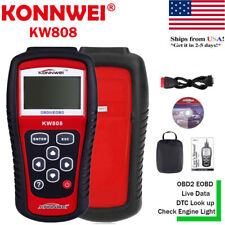 New KW808 OBD2 Scanner CAN Engine Reset Tool KONNWEI Car Diagnostic Code Reader