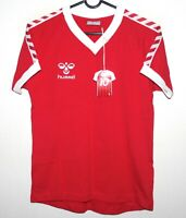 Denmark National Team retro style football shirt Hummel Size KIDS M / 152 BNWT