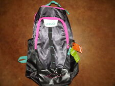 NWT Avia gray w pink green trim Backpack laptop smartphone pocket