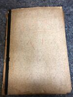 1930's Scrapbook - Hanover, PA - Actors - Local News - Firefighters - Airplanes