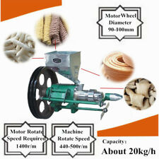 More details for puffed food extruder food rice corn heating puffing puff snack machine fast ship