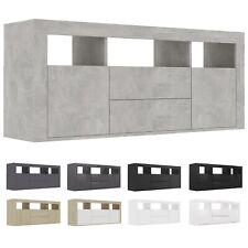 vidaXL TV Schrank Spanplatte HiFi Lowboard Fernsehschrank mehrere Auswahl