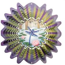 Iron Stop Wind Spinner Holographic Dragonfly