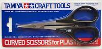 Tamiya 74005 Curved Scissors RC Car Body Plastic Model Craft Tools - UK Stock
