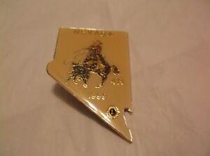 CR21) 1999 Nevada 4-N Rodeo Cowboy Calf Roping Small Lions Club Pin