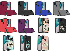 For OnePlus Nord N10 5G ShockProof Hybrid Case Phone Cover