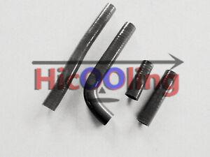 Black silicone radiator hose for YAMAHA YZ426F YZ 426 F 2000 2001 2002 00 01 02